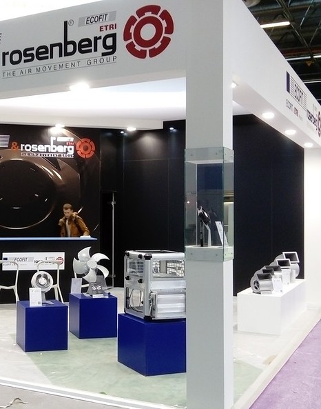 ECOFIT and ROSENBERG booth